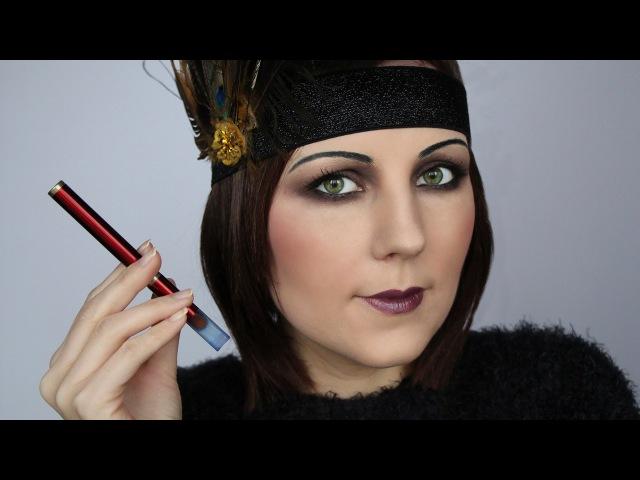 Gatsby 1920s Vintage makeup /Flapper Girl