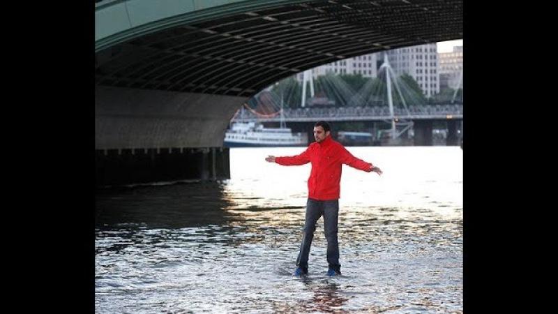 НЕВЕРОЯТНЫЕ ФОКУСЫ В МИРЕ. Иллюзионист Динамо - Полет на месте * Dynamo magic - Shard levitation
