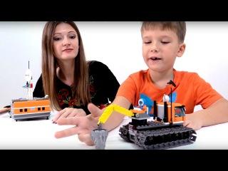 Видео для детей. Развивающие игры. Путешествие в Арктику.