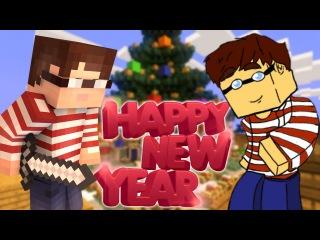 Поздравление с новым годом от Волли - Minecraft PE