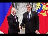 Владимир Путин вручил президенту