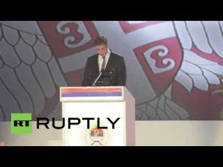 Босния и Герцеговина: Премьер-Министр Сербии Вучич присоединяется Республику Сербская торжеств Сущность Дня.