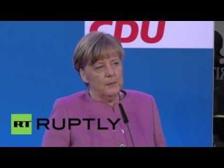 Германия: Меркель намекает на возможные изменения закона следующих Кельне обвинению в нападении.