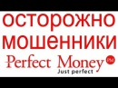 Perfect Money как воруют через скайп