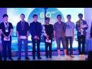 Церемония награждения победителей 60 го Полиметалл Европейского Го Конгресса в Санкт Петербурге 2016