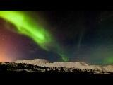 Полярное сияние над Норвегией (Aurora Borealis).