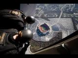 WOW! Navy SEALS' Insane Parachute Jump into Football Stadium! =O