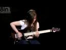 15-летняя девушка Тина С играет на гитаре Пинк Флойд Pink Floyd - Comfortably Numb Solo Co