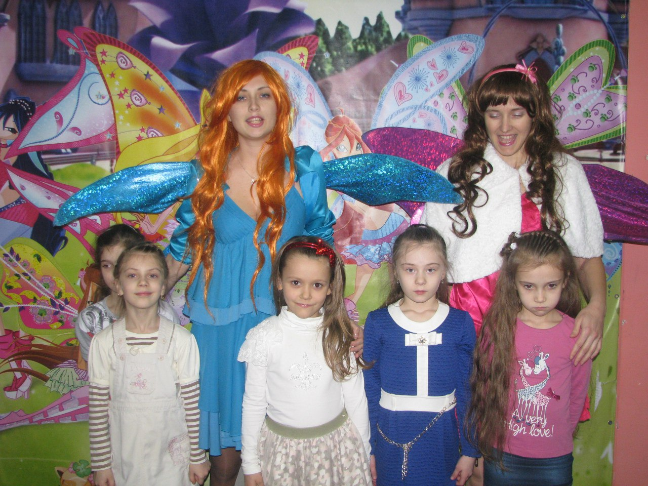 детский День рождения в Запорожье детский центр Апельсин