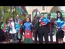 Agcabedi Seherinde Azerbaycan ordusuna destek aksiyasi (06.04.2016) (vk.Mende Agcabedliyem)