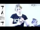 Как красить красителем POWR. Новинка от ID Hair 2015 - YouTube