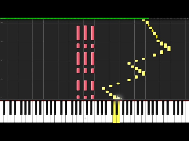 Für Elise Ludwig van Beethoven Piano Tutorial Synthesia