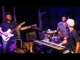 Cory Henry (Snarky Puppy) sick jam w Funk Apostles (guitar, synth, drums solos) - Jazz Fusion 2016