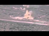Destruction Huthis Saudi M1A2 Abrams tank guided missile system
