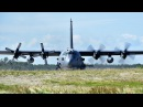 LEGENDARY AC-130 IN ACTION • SPOOKY GUNSHIP FIRING • CANNONS GATTLING GUN LIVE FIRE