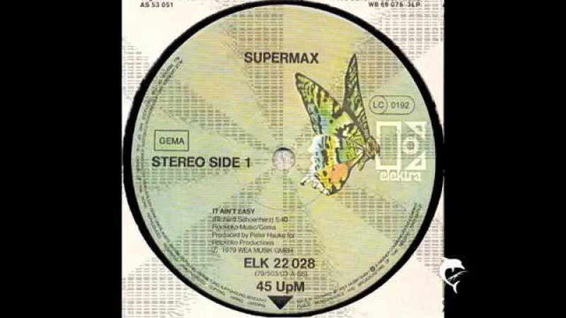 SUPERMAX - IT AIN'T EASY - EXTENDED 12'' - 1979