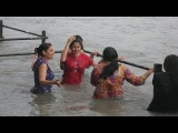 Indian desi hot girls, women enjoy at seabeach - Part 2