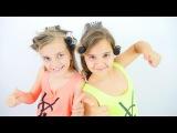 Bigudiyle kıvırcık saç yapma. Sema ve Ayça ile saç modeli. Kız Yıldız - kız oyunları ve oyuncakları