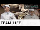 Follow Lewis & Nico! - Exclusive behind the scenes action from Stars & Cars