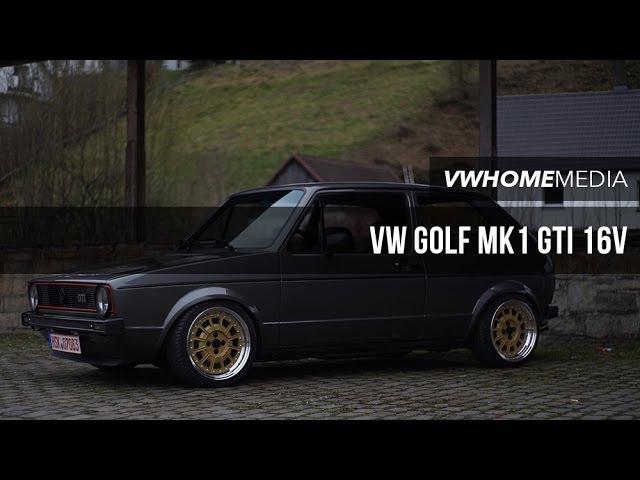 VW Golf MK1 GTI 16V | Mike Wiese | VWHome