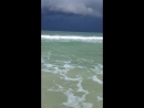 Гроза над Мексиканским заливом Пенсакола штат Флорида