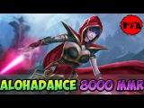 Dota 2 - ALOHADANCE 8000 MMR Plays Templar Assassin vol #1 - Ranked Match