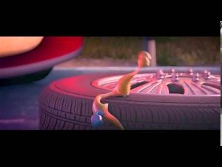 Смешной мультфильм про улиток от Pixar! (Funny cartoon about the snails from Pixar!)