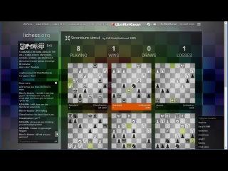СЕАНС по всем видам шахмат на личесс 25-11-15. Шахматы