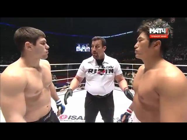 Valentin Moldavsky VS Yuta Uchida, RIZIN FF, SARABA NO UTAKE