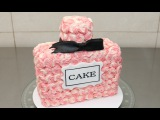 How To Make a Perfume Bottle Cake - Buttercream Decorating Idea by CakesStepbyStep