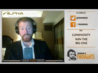 Thorin's Thoughts - Luminosity Win the Big One (CS:GO)