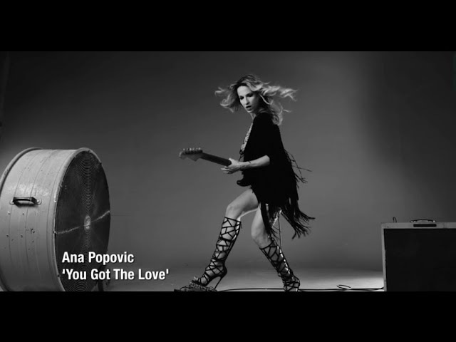 Ana Popovic - You Got the Love [OFFICIAL MUSIC VIDEO]