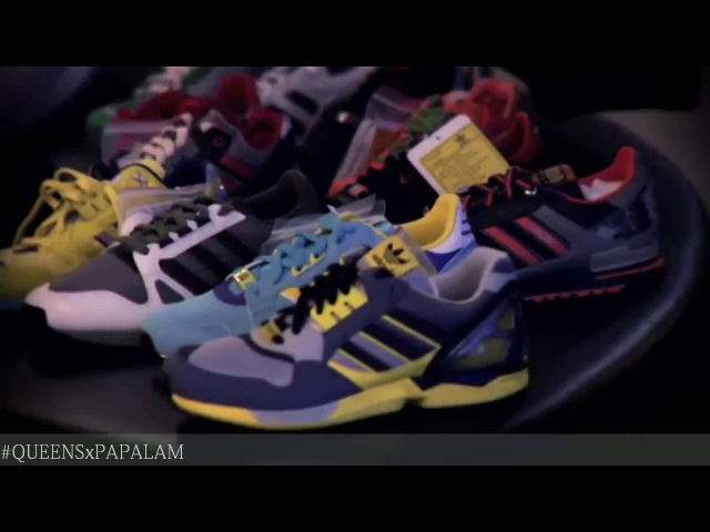 История Adidas ZX с переводом [QUEENSxPAPALAM]