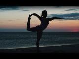 Йога на берегу моря. Yoga on the beach