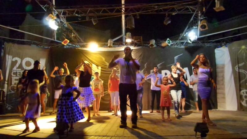 Египет Отель Faraana Reef Танцуют все