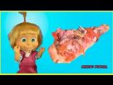 Маша и Медведь Барби куклы Мультик Планета пиццы. игрушки и игры для девочек. Игры для детей.