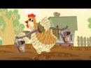 Котяткины мультфильмы - Курочка рябушечка (мультики для самых маленьких)