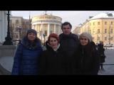 Библиотека им. Татьяничевой поздравила Студентов с Днем Татьяны прямо из Москвы!