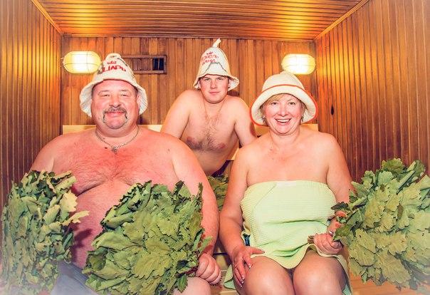 русская общая женская баня