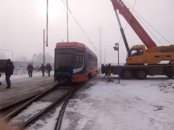 Четыре новых трамвая выйдут на линию в Нижнекамске в середине апреля