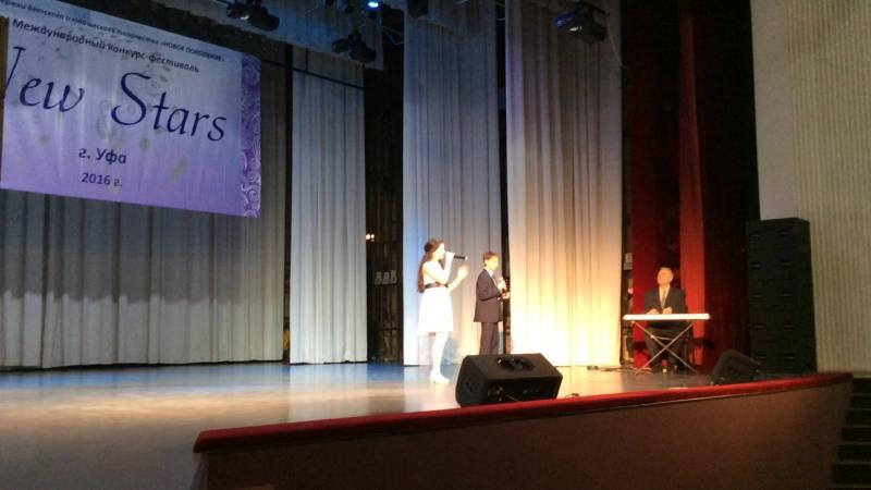 Асмаев Тагир и Абрарова Альбина - Thank you fot the music
