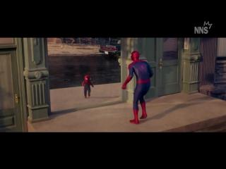 Человек-паук в детстве (NNS) ну себе прикол ржач ржака физрук универ серия сезон