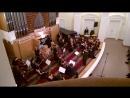 В.А.Моцарт. Allegro из Сонаты для двух скрипок, органа и баса. Антон Хольцапфель (Австрия, орган) Омский камерный оркестр. Дириж
