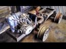 Установка двигателя. Сборка минитрактора 5 серия