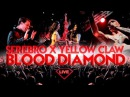 Yellow Claw feat SEREBRO BLOOD DIAMOND LIVE @ Record Trap Moscow 2016