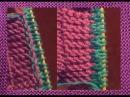 Как правильно набрать новые петли из кромочных для планки застежки или рукава
