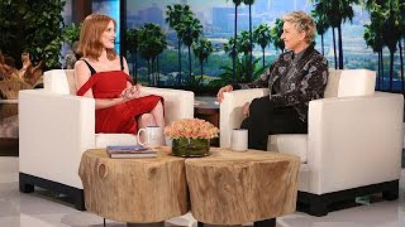Jessica Chastain Spanked Madonna!