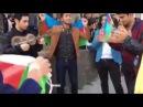Qarabaga Destek aksiyasi Azerbaycan Milli Konservatoriyasinin Telebeleri