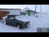 Жители села в Восточном Казахстане утопают в снегу