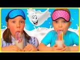 ЧЕЛЕНДЖ Угадай Трубочки для Молока Пробуем Волшебные Соломинки Challenge Ducts Magic Straws Milk